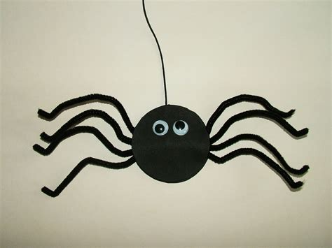 spider crafts for jolieart craft tutorial for how to make a