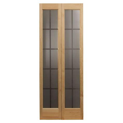 24 x 80 interior door pinecroft 36 in x 80 in colonial glass universal