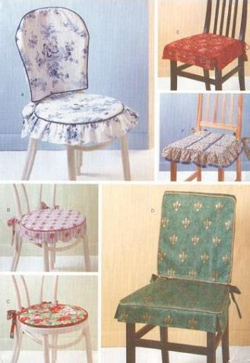 dining room chair cover patterns chair covers pads sewing pattern dining room by patterns4you