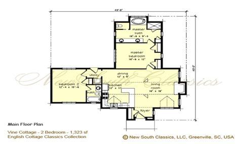 2 bedroom cottage floor plans 2 bedroom house plans with open floor plan 2 bedroom