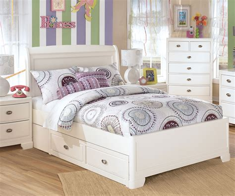 white bed frame with drawers size white painted oak wood bed frame with drawers of