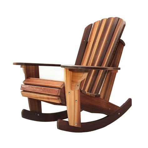 Chair Rocker by Handcrafted Adirondack Cedar Rocker Chairs Adirondack