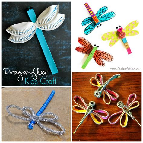 dragonfly crafts for colorful dragonfly craft ideas for crafty morning