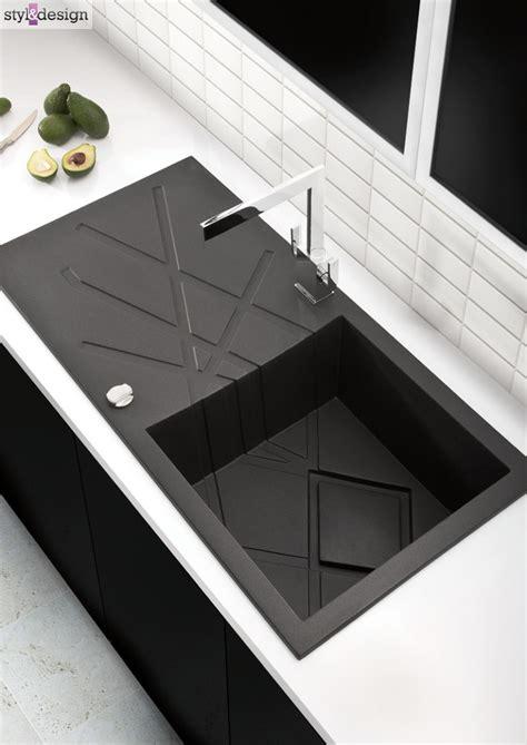 kitchen sink modern 17 best ideas about black kitchen sinks on