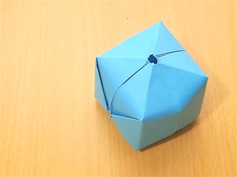origami balloon how to make an origami balloon 8 steps with pictures