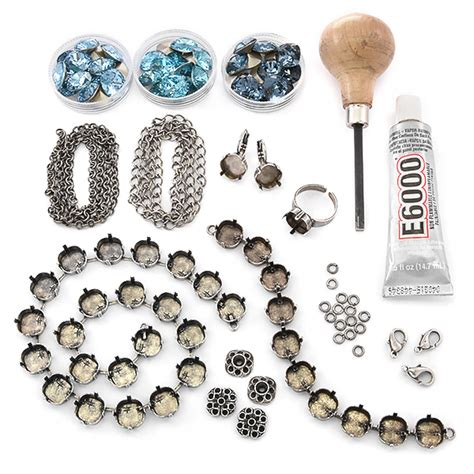 beginner jewelry kits 12x12 square jewelry kit