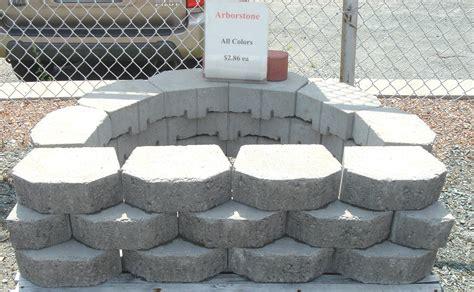 concrete garden walls concrete block and brick products