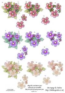 free decoupage papers free decoupage sheets 3d floral decoupage