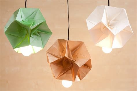 how to make origami lshade these diy origami l shades are our new obsession brit