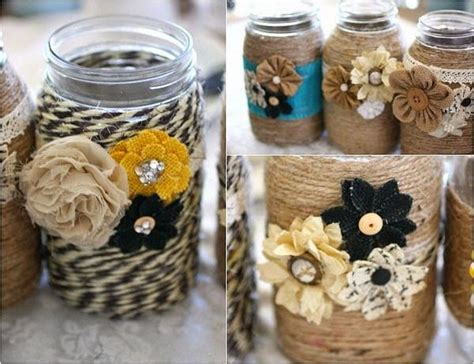 craft projects with jars ways to decorate with jars recycled things