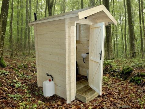 Eco Outdoor Toilet by Composting Timber Toilet Humanitarian