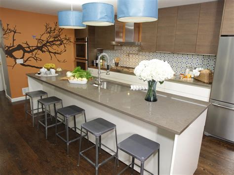 kitchen with island images kitchen island breakfast bar pictures ideas from hgtv