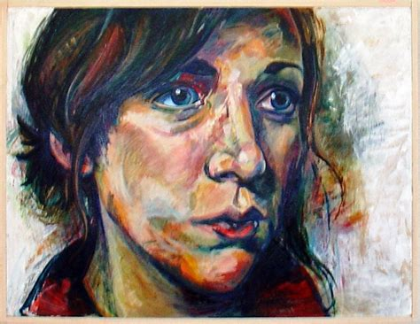 acrylic painting portrait judges choice award emily measor acrylic self portrait