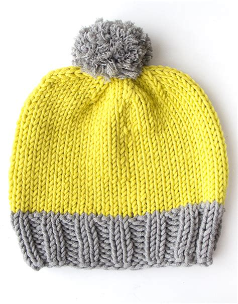 knitting bobble pattern knitting pattern how to make a bobble hat mollie makes