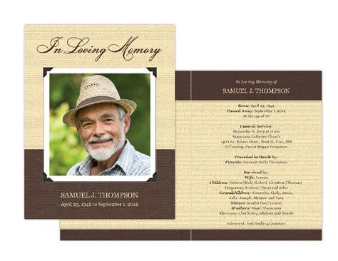 how to make a memorial card memorial cards memorial programs and memorial bookmarks