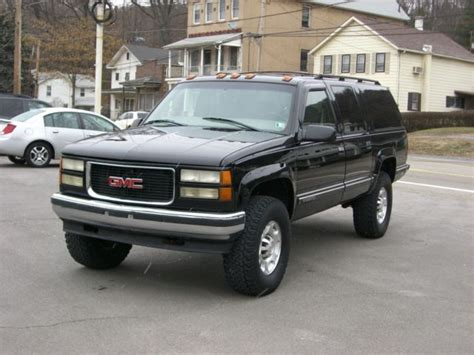 car repair manuals download 1999 gmc suburban 2500 on board diagnostic system 2500 turbo diesel manual stick shift transmission leather lifted 35 quot tires 8 lug