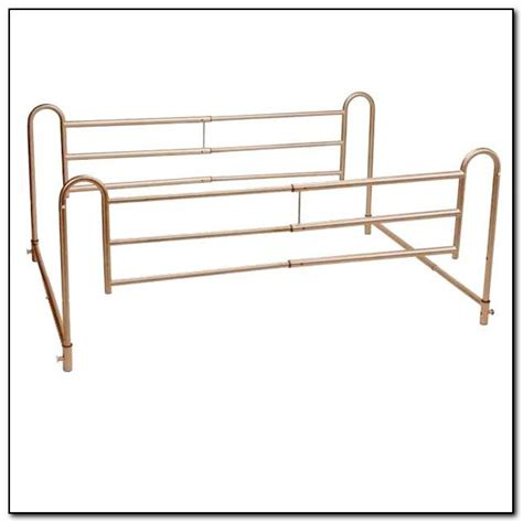 side bed rails for bed bed side rails for adults beds home design ideas