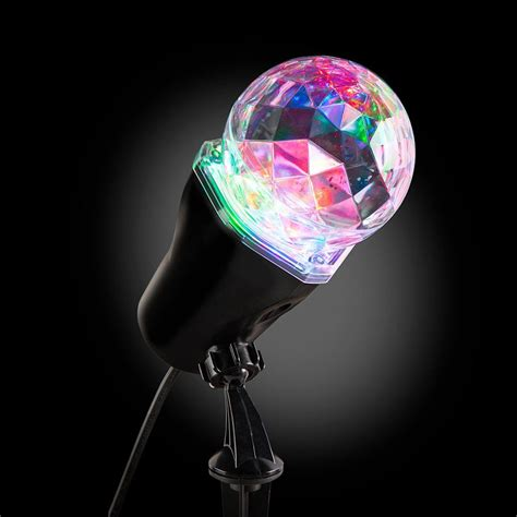 light show projector lightshow applights projection spot light stake 37871