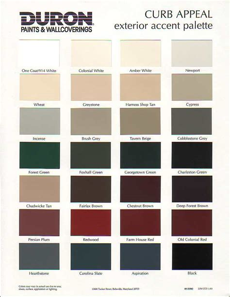 Earth Tone Bedroom Ideas duron paint color chart tips