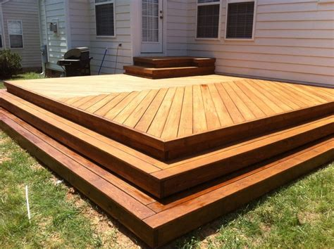wrap around deck plans new deck with herringbone decking pattern no railing with
