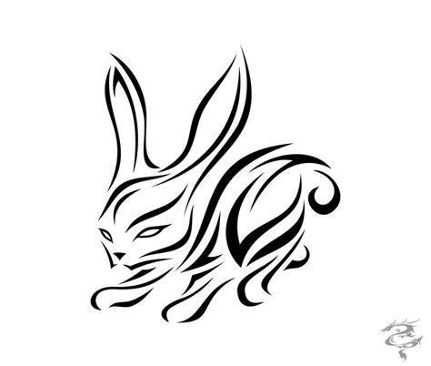 chinese zodiac tattoo rabbit by visuallyours on deviantart