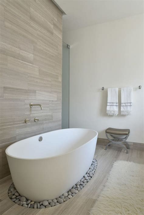 Spa Tubs For Bathroom by Create Your Own Spa Bathroom With Pebbles