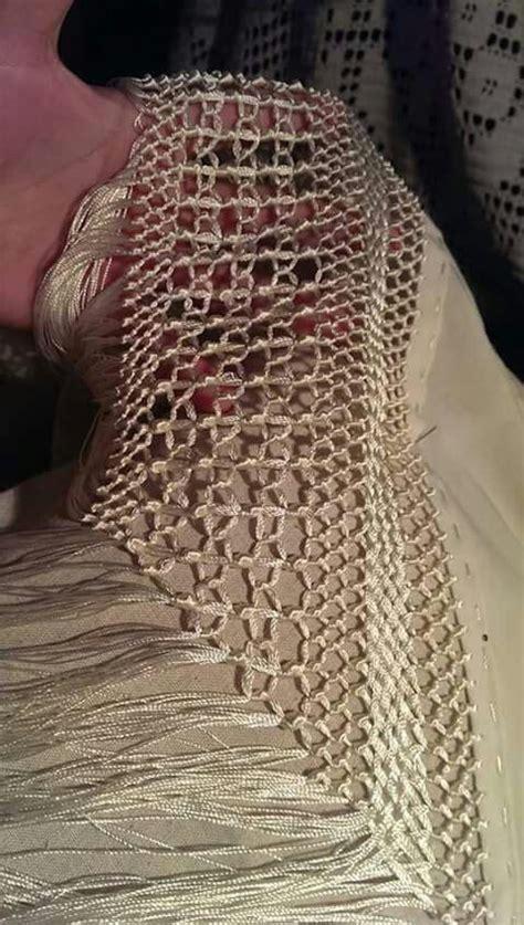 enrejado manton mantones enrejados de mantones pinterest enrejado