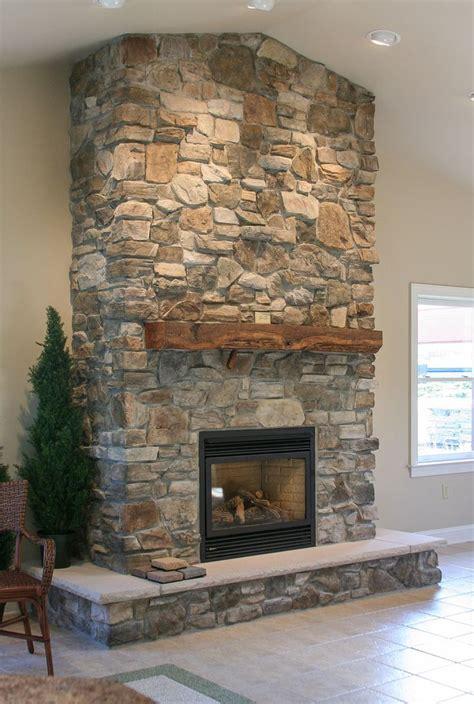 rock fireplaces best 25 eldorado ideas on