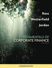 fundamentals of differential equations 9th edition fundamentals of corporate finance ross 9th edition test bank