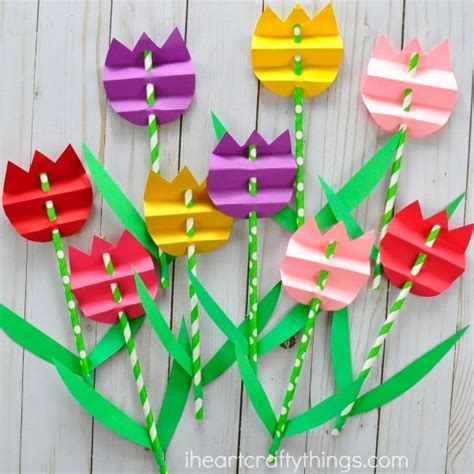 pretty paper crafts 25 unique flower crafts ideas on