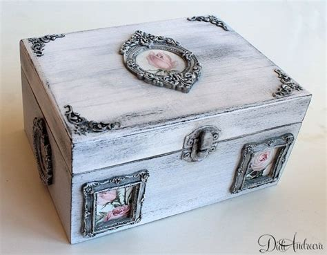 decoupage jewelry box ideas 1000 ideas about wooden jewelry boxes on