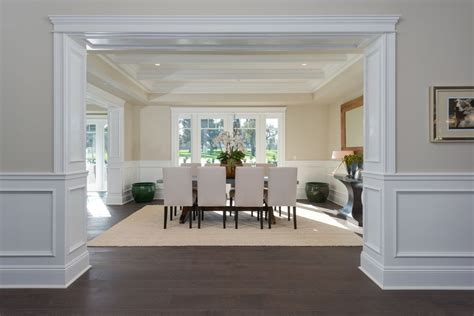 pictures of wainscoting in dining rooms traditional dining room with hardwood floors by jackie