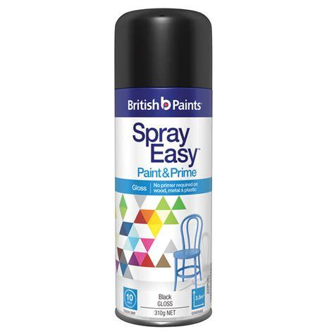 spray paint nz paints 310g gloss black sprayeasy paint and prime
