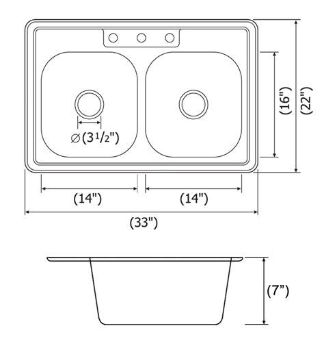 kitchen sinks dimensions kitchen sink dimensions