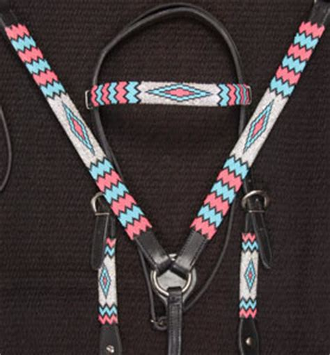 beaded tack sets product details quot apache iii quot handmade beaded tack set