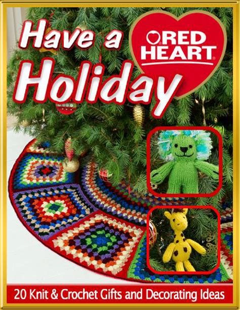 knitting holidays a 20 knit crochet gifts and