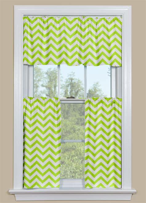 chevron kitchen curtains kitchen or bathroom window curtain chevron pattern in
