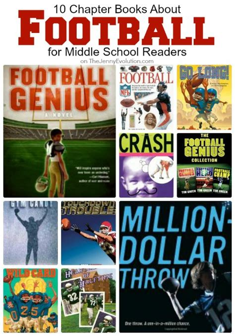 football picture books 10 chapter books about football for middle school readers
