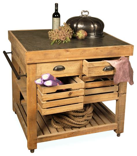 rustic kitchen islands and carts belaney rustic wood kitchen island honey pine and blue rustic kitchen islands and