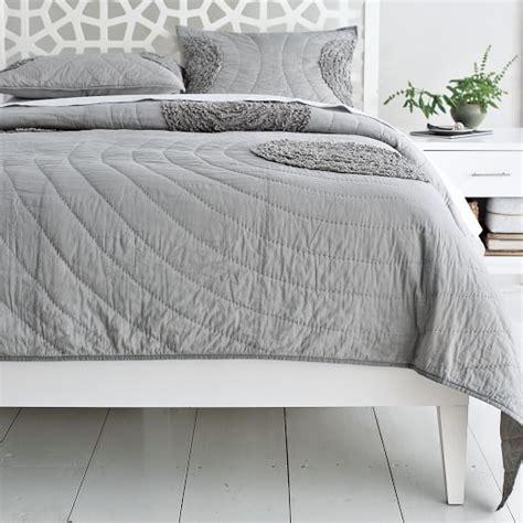 white bed frame wood narrow leg wood bed frame white west elm