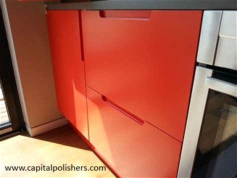 spray paint kitchen doors capital polishers ltd furniture spraying kitchen