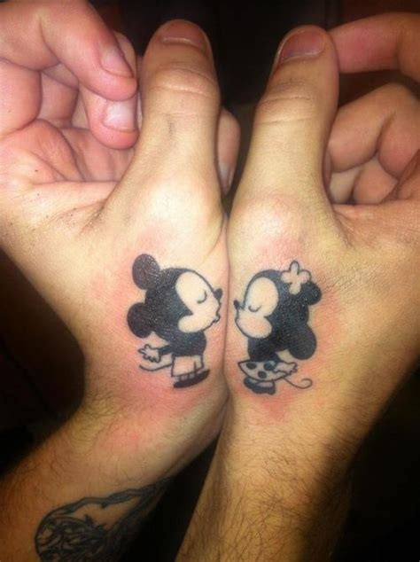 show your love through matching tattoos
