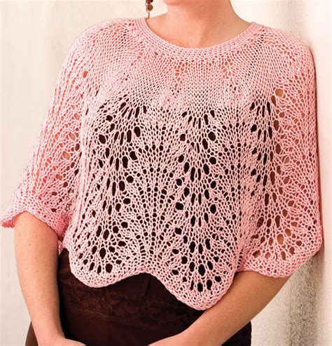 summer knitting patterns lighter poncho knitting patterns in the loop knitting