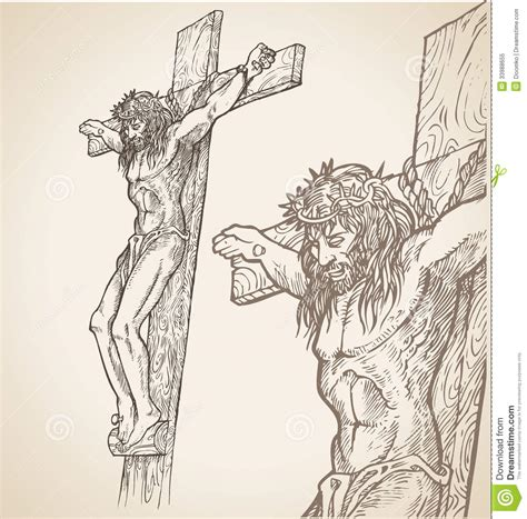 jesus hand draw royalty free stock photo image 33988655