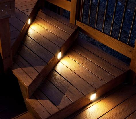 stair lights outdoor outside stair lights cool led deck light stair lights