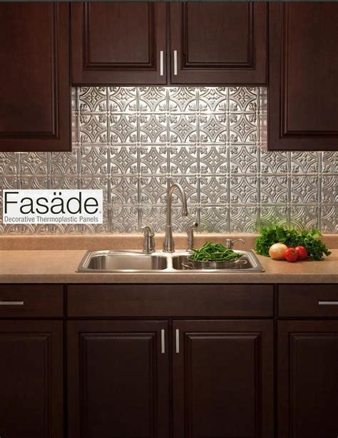 easy diy kitchen backsplash quot fasade quot backsplash and easy to install great