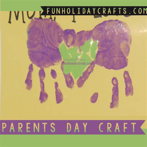 crafts for to make for parents parent day craft