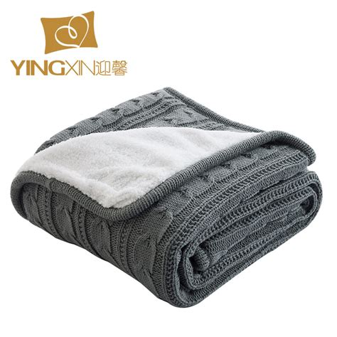 cable knit throw blanket get cheap cable knit throw blanket aliexpress