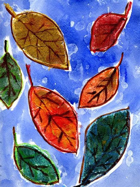 craft projects with leaves fall leaf projects for