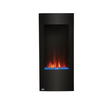 Home Depot Electric Fireplaces by Napoleon 38 In Vertical Wall Mount Electric Fireplace In